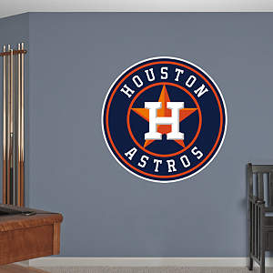 Houston Astros Logo Fathead Wall Decal